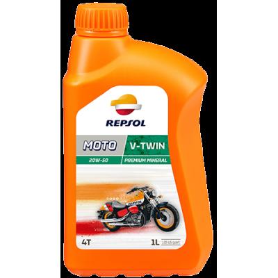 REPSOL MOTO V-TWIN 20W50 (1l)