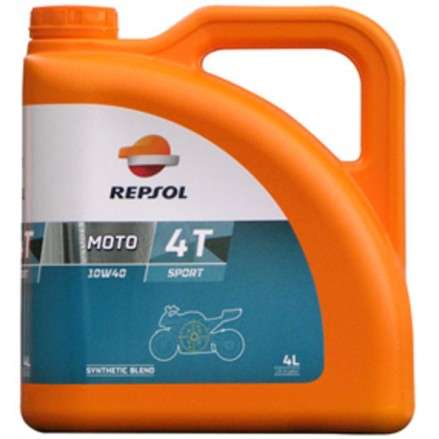 REPSOL MOTO SPORT 4T 10W40 (4L)